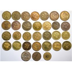 $2 1/2 Liberty (Gold Coin) Counters Collection, Fauver  (120149)