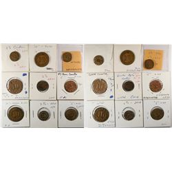 Counters in Gold Coin Denominations  (120141)