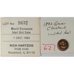 Grover Cleveland Medal  (121474)