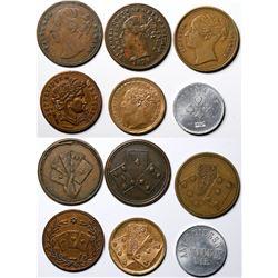 Queen Victoria Counters  (121437)