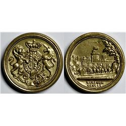Windsor Castle Shell Case For Tokens  (121418)