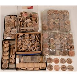 Wooden Nickel Collection  (121776)
