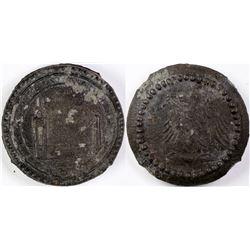 Golden Gate International Expo. (GGIE) Zinc Medal  (113583)