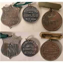 19th Century Medals  (108608)