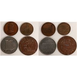 Swiss Medals Honoring Patriotism  (121080)