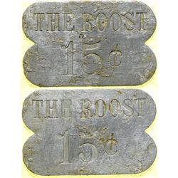 The Roost Brothel 15-cent Token  (101832)