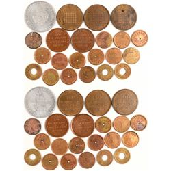 Large Nevada Token Lot (21)  (104511)
