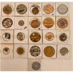 Army and Navy Tokens, Wooden Nickels, Medals, Etc.  (123049)