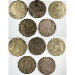Carolus  IIII Mexican reale Counters  (120114)