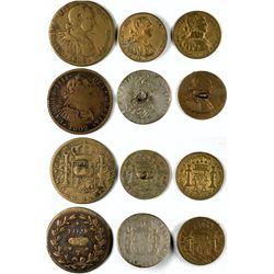 Carolus IIII various reales  (120192)