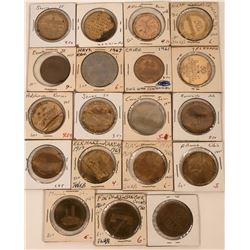 Centennial Tokens from the Midwest  (123035)