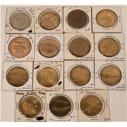 Eastern U. S. Centennial Tokens  (123017)
