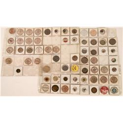 Miscellaneous Fraternal Tokens, Medals and Pinbacks  (118263)