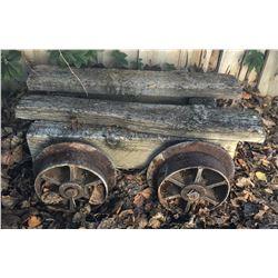 Underground Mine Timber Car  (121673)