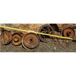 Mining Parts- Ore Cars, Headframe  (122783)