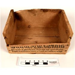 Proctor & Gamble Candle Wood Box  (121725)