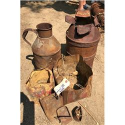 Rusty Cans from Candelaria Mine Site  (122009)