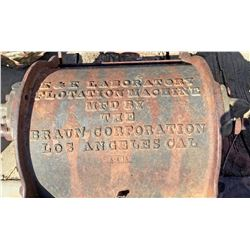 Braun Laboratory Flotation Machine  (119437)