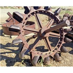 Pelton Wheel with all the accessories (8 pieces)  (119434)
