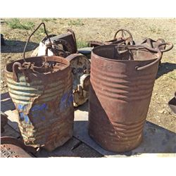 Carbide Can Ore Buckets  (119439)