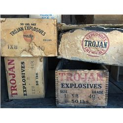 Trojan Powder Boxes (4)  (122155)