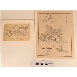 Arizona Copper Mining Company Maps (2)  (122269)