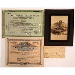 Butte County Mining Stocks & Rare Ephemera: Cherokee, Forbestown  (107813)