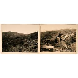 Two Photographs of Napa County Mercury Mines  (113570)