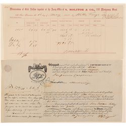 California Gold Rush Documents (2)  (100404)