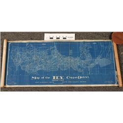 Ely Copper Mining District Map, White Pine County  (122286)