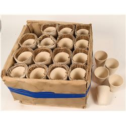 Crucibles - 30 gram fire clay mining crucible.(Box of 80)  (119457)