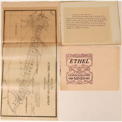 "Prospectus for ""Ethel Consolidated Mines"", Index  (120937)"
