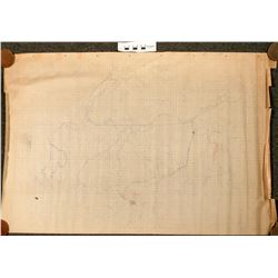 Mine Maps from Coal Creek Mine and others owned by Oregon Improvement Co., 1884-1885  (121534)