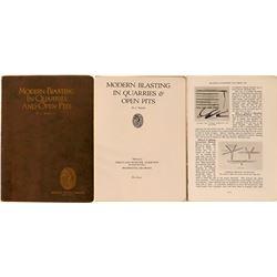 Hercules Powder Company 1927 Mining Book  (118994)