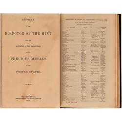 Report of the Director of the Mint, Precious Metals, U.S.  (122263)
