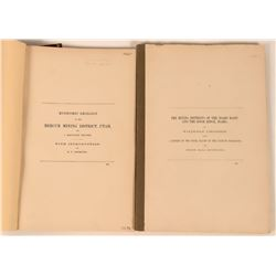 USGS Annual Reports for Utah & Idaho Publications (2)  (122250)