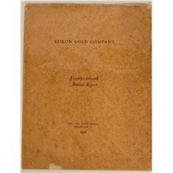 Yukon Gold Company 1935 Annual Report  (112098)