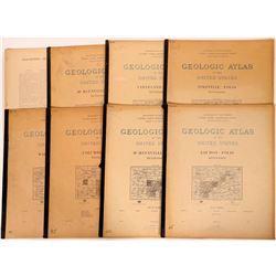 Tennessee USGS Geologic Folios (8)  (112310)