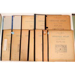 Virginia USGS Geologic Folios (12)  (112311)