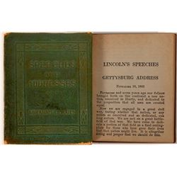 Abraham Lincoln Speeches by Little Leather Library  (112361)