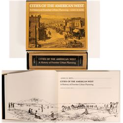 Book on Urban Planning in Old West  (120848)