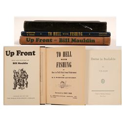 Books (3) Hardback, Army Stories & Fishing  (105477)