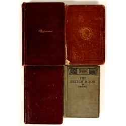 English Literature Classics, Irving, Dickens, Scott, Holland  (109453)