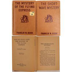 Hardy Boys Mysteries Hardback Books (2)  (105478)