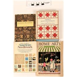 Reference Library of Quilts, Rugs and Needlework  (121551)
