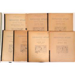 Virginia- West Virginia  USGS Geologic Folios (7)  (112200)
