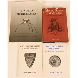 Apothecaries' Weights Reference Books  (118962)