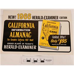 Advertising Sign, LA Herald Examiner  (120907)