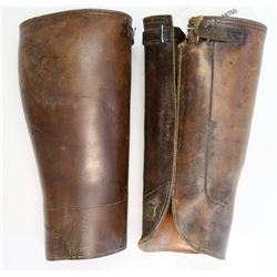 George Lawrence and Co. Leather Half-Chaps  (108760)