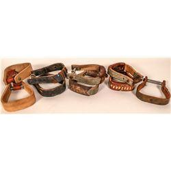 Western Vintage Saddle Stirrups  (108762)
